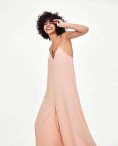 Image 2 of FLOWING JUMPSUIT from Zara