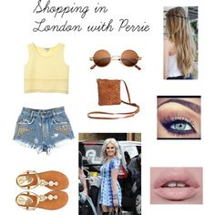 Shopping in London with Perrie