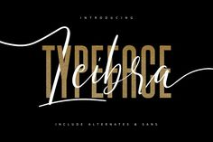 Leibra Typeface - Free Sans Serif by Maulana Creative on Handwritten Fonts, Script Fonts, New Fonts, Calligraphy Fonts, Typeface Font, Free Typeface, Website Header, Cool Fonts, Awesome Fonts
