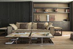 Стиль контемпорари, мебель