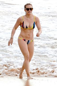 Hilary Duff doesn't need to look perfect in her bikini! She's perfect just the way she is! See what else she said!