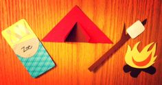 Camping: It's In-Tents! Day 5 of the 30 Day Inspiration Challenge. Check out this door dec for a quick tutorial and templates. @The Resident Advisor