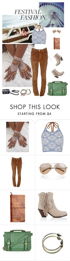 """""""2017: Outdoor Concert"""" by rockerchick21 ❤ liked on Polyvore featuring Urban Outfitters, River Island, OneTeaspoon, Valentino, Patricia Nash, Sam Edelman, Topshop and Ted Baker"""