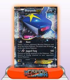 SHARPEDO EX HP170 - 91/160