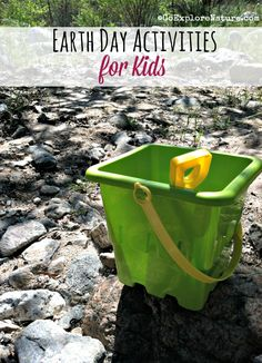 Earth day is a chance for every kid to celebrate the planet. These Earth Day activities are just right for kids. Earth Day Activities, Learning Activities, Activities For Kids, Earth Day Crafts, Nature Crafts, Mother Earth, Mother Nature, Outdoor Learning Spaces, Love The Earth