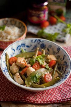 Recette de poulet thaï