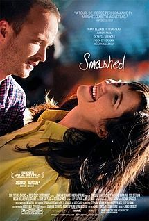 Smashed is a 2012 American drama film directed by James Ponsoldt, written by Ponsoldt and Susan Burke, and starring Mary Elizabeth Winstead and Aaron Paul.