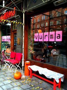 Café Vurma, café & lunch | Birger Jarlsgatan 36 / Polhemsgatan 15 / Gästrikegatan 2 / Skånegatan 81 | Stockholm