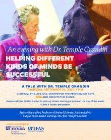 Temple Grandin Save the Date