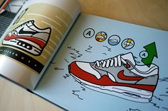 Matt Stevens: Book: After garnishing overwhelming support and notoriety when it was first introduced as a Kickstarter Coffee Table Books, Air Max 1, Book Art, Branding, Author, It Is Finished, Illustration, Garnishing, Design