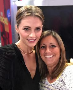 Stana Katic of Castle on Good Morning America 11/10/14