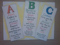 Colouring Pages Of Abc : The abc of the gospel coloring page see more at my ger