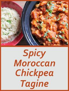 This tasty, spicy Moroccan chickpea tagine has just enough of a spicy kick, but not so much as to take away the delicious taste. Made in the old fashioned way, in a tagine, it takes me back to hearty dishes I enjoyed as a kid in Tangier.
