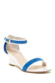 'Queena' Wedge Sandal by Aquatalia by Marvin K on @nordstrom_rack