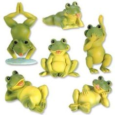 StealStreet Frogs  Figurines