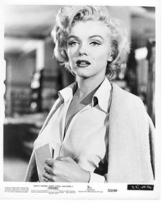 """Holli's grandfather had """"great taste in movies,"""" Sohmers remarked. """"He kept only the best."""" Indeed, the collection includes many of Hollywood's biggest stars. Pictured here is Marilyn Monroe in the film noir """"Niagara."""""""