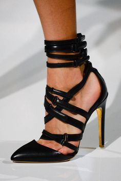 Strap Happy Antonio Berardi (Fall 2014)