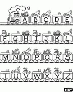 Free Online Printable Kids Colouring Pages - Train Colouring Page ...