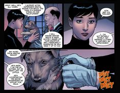 Selina, Alfred and Ace