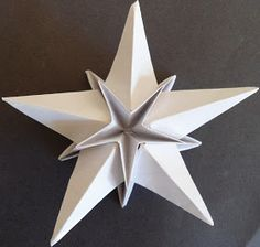 ADOBRACIA: Origami Simples: Estrela Dimensional (Com Diagrama)