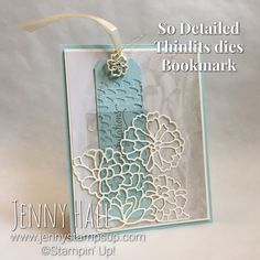 So Detailed Bookmark card for #GDP071 :: Jenny Hall