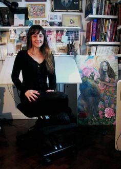 Cita en las Diagonales: Paz Mari-Kandinsky- Artista Visual.