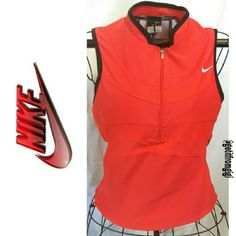 NIKE Dri-Fit Top In great pre-owned condition. Zips up front. Size petite small. Nike Tops Vests