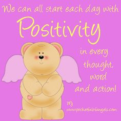 Positive thinking affirmation images - optimistic living - Mary Jac (click picture to see more)