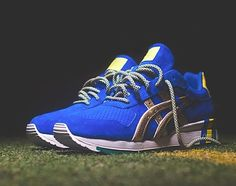"Ronnie Fieg x ASICS GT II ""KITH Football Equipment: Brazil"" 