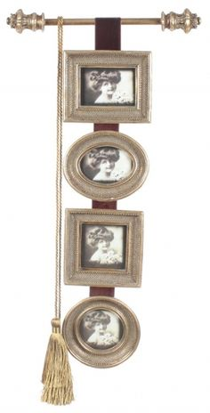 """Ramă foto """"Medalion"""" - patru rame foto în stil vintage, patru amintiri se înşiră spre a stârni un zâmbet melancolic."""
