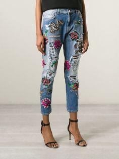 Marco Bologna Jeans Mit Stickereien - Elite - Farfetch.com                                                                                                                                                     Mehr