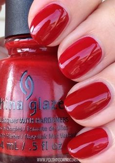 China Glaze Seeing Red (The Giver Collection)