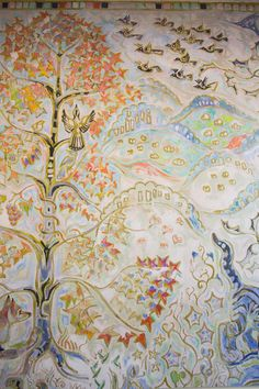 Walter Anderson Community Center indoor murals… beautiful