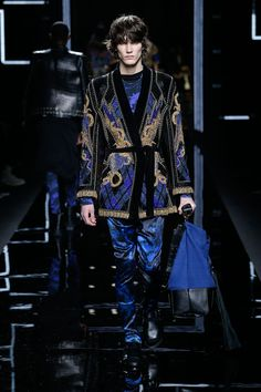 BALMAIN MEN'S FW17 SHOW - LOOK 72