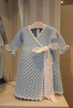 Patrones ganchillo ropa bebé