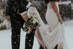 Winter Wedding Photograph