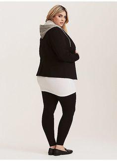 TORRID : Premium Leggings item 10208882 size 3, black, gray or any solid dark color.