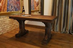 Oblong Barn Wood Rustic Table • WOO Design