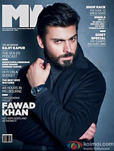 HOT! Fawad Khan Features On Mans World Magazines Latest Cover
