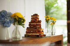 Bolo Naked Cake Casamento {Fernanda e Mário} | Site da Noiva | Blog Site da Noiva - casamento_real_Fernanda_e_Mario_Lens_photo_33