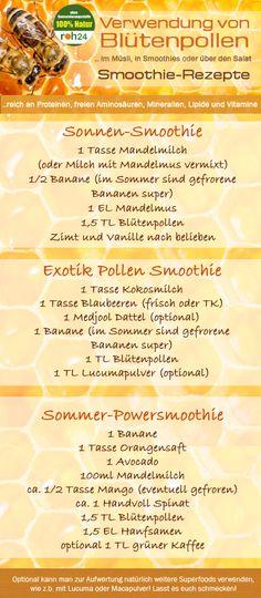 Blütenpollen (manchmal auch Bienenpollen genannt) - das natürliche Nahrungergänzungsmittel für Vitalität, Fitness und Gesundheit. Der Pollen von Blütenpflanzen enthält eine Fülle an wertvollen Vitalstoffen. Aminosäuren, Saccharide, Vitamine, Fermente, keimtötende Stoffe, schützende Flavonoide, Mineralien und Spurenelemente.  www.roh24.de/rohkost/bluetenpollen-bienenpollen-ganz-100-rein-spitzenqualitaet