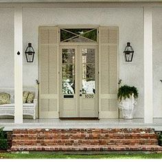Exterior Render Architecture - Terrazas Exterior Chill Out - Metal Shop Exterior - Louvered Shutters, Interior Window Shutters, Interior Windows, Vinyl Shutters, Cafe Shutters, Door Design, Exterior Design, Render Architecture, Architecture Diagrams