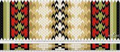 Bunad, Smykker, vev & rosemaling: Mønster inspirert av brikkevevd Øst-Telemark belte.