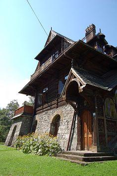 Mountain architecture, Zakopane, Poland