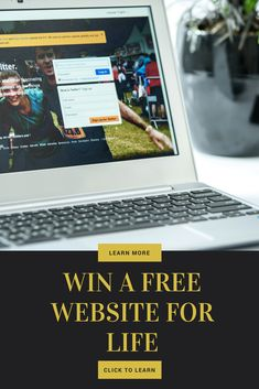 Win a Free Website for Life