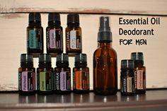 Essential Oil Deodorant for Men