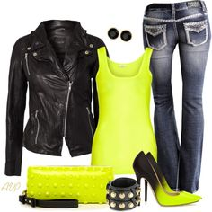 """""""Jimmy Choo Neon Pumps"""" by amy-phelps on Polyvore"""