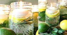 Velas flutuantes para decorar e aromatizar sua casa