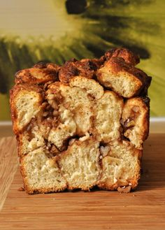 """Monkeybread - recipe in French, from the """"Great British Bake Off : how to bake"""""""