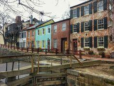 The cutest corner in Georgetown, Washington DC